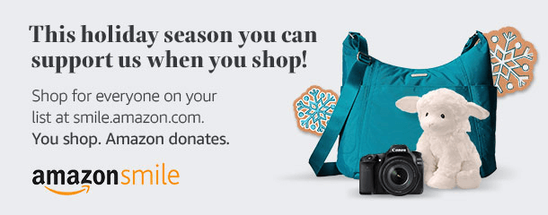 Shop Amazon through our AmazonSmile link, and Amazon will donate 0.5% of the cost of your purchase to MBM Spay/Neuter Clinic at no additional cost to you.